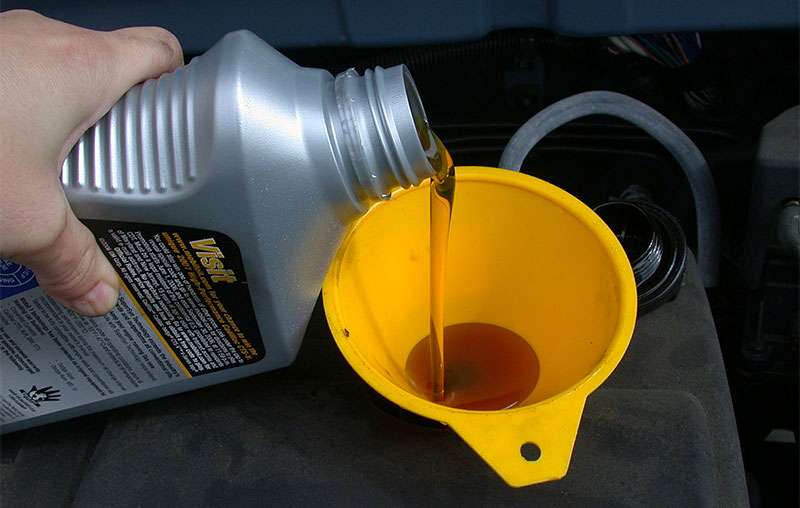 change car oil