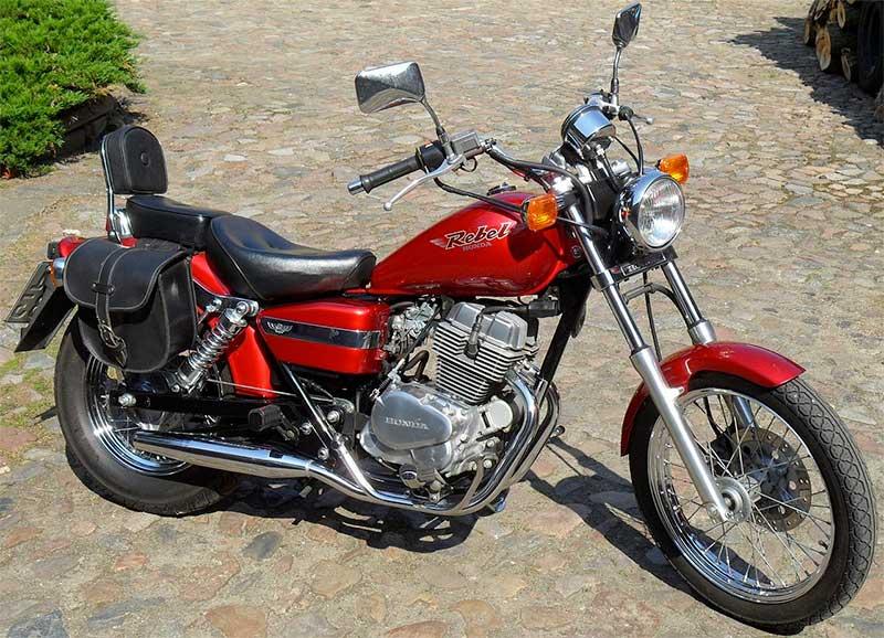 honda rebel 250 bike