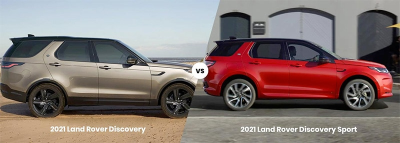 land rover discovery vs discovery sport