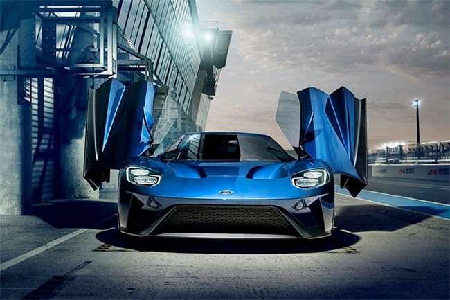 ford GT butterfly doors
