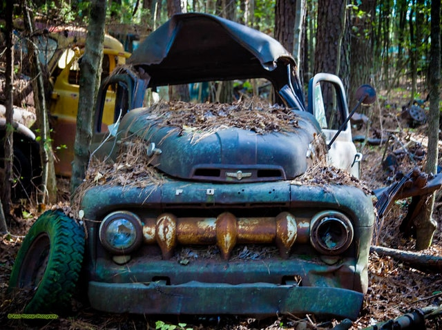Old Car City USA old pickup truck