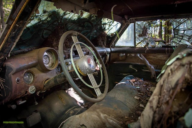 Old Car City USA junkyard